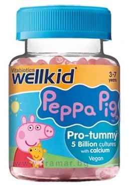 Изображение към продукта УЕЛКИД ПЕПА ПИГ ПРОБИОТИК желирани таблетки * 30  ВИТАБИОТИКС