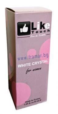 Изображение към продукта ЛАЙК ТАЧ ТОАЛЕТНА ВОДА WHITE CRYSTAL ЗА ЖЕНИ 55 мл.