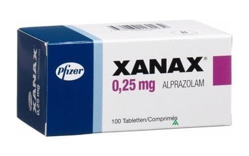 Изображение към продукта КСАНАКС таблетки 0.25 мг * 100