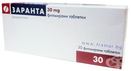 Изображение към продукта ЗАРАНТА таблетки 30 мг. * 30