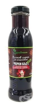 ЧЕРЕН БЪЗ (ПЛОД) И КЛЕНОВ СИРОП 285 мл ЗДРАВНИЦА - изображение