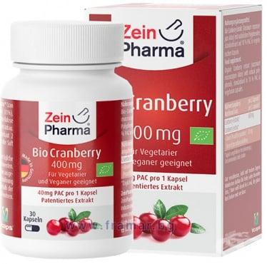 Изображение към продукта ЗЕИН ФАРМА БИО ЧЕРВЕНА БОРОВИНКА капсули 400 мг * 30