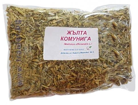 Изображение към продукта ЖЪЛТА КОМУНИГА 50 гр. ФИТО КОНСУЛТ