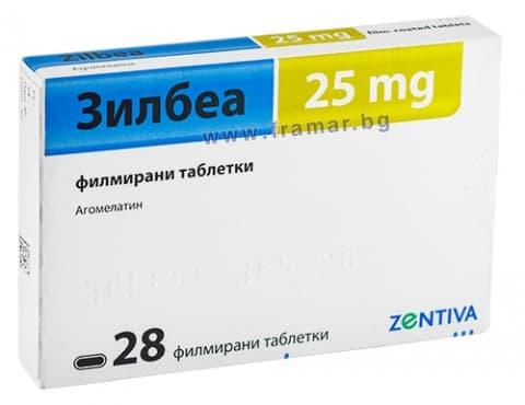 Изображение към продукта ЗИЛБЕА таблетки 25 мг * 28