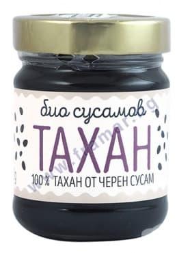 Изображение към продукта ЗОЯ БИО СУСАМОВ ТАХАН - ЧЕРЕН  200 гр.