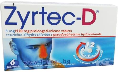 ЗИРТЕК D таблетки * 6 - изображение