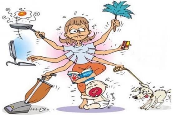 6 психологически съвета за претоварени майки - изображение