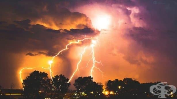 Астрафобия: страх от гръмотевици и светкавици - изображение