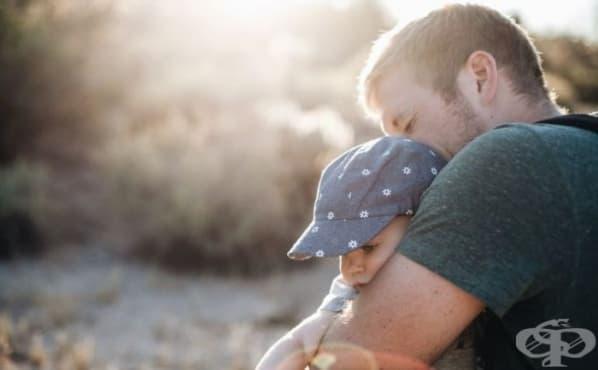Гушкането променя гените на бебетата - изображение