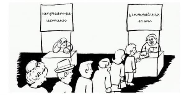 Как и защо лъжем себе си: когнитивен дисонанс - изображение