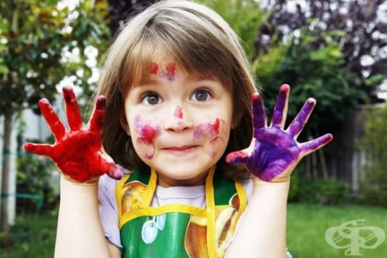 Цветовете работят за развитието на детската психика - изображение