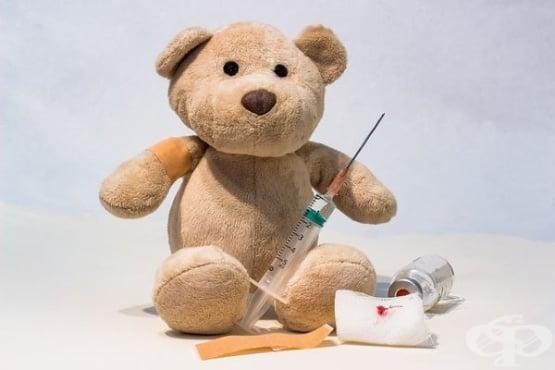 Изберете подходящите думи, за да успокоите детето непосредствено след ваксинация  - изображение