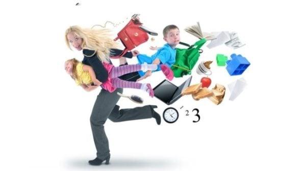 Как да преборите стреса в семейството, ако сте твърде заети - изображение