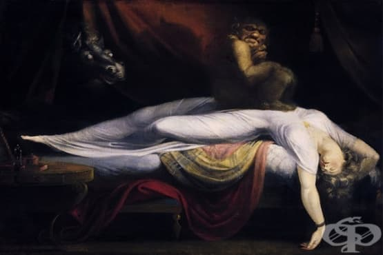 Какво представлява сънната парализа - изображение
