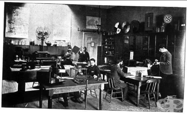 Първата експериментална психологическа лаборатория от 1879 - изображение