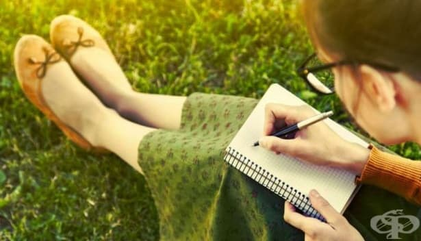 За да намалите стреса и тревожността, пишете за положителните си емоции - изображение