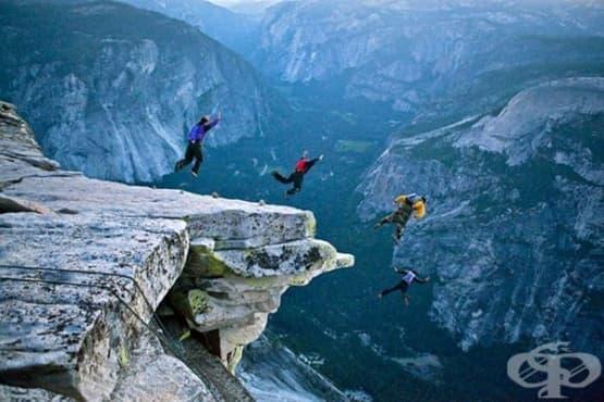 Полезни ли са екстремните спортове за психическото ни здраве - изображение