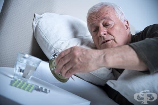 Проблеми със съня при хората в третата възраст  - изображение