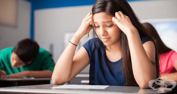Стресът при изпити помага за постигането на по-добри резултати - изображение