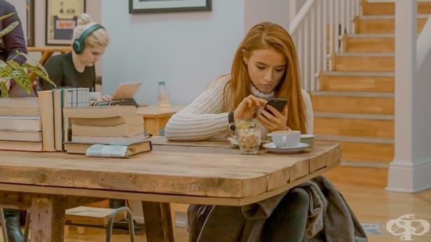 Кога трябва да застанете между тийнейджъра и неговия телефон - изображение
