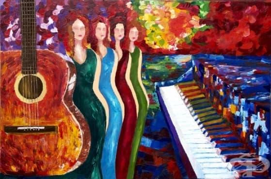 Арт упражнение за релаксация: Рисуване на музика - изображение