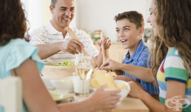 11 въпроса, които да зададете на децата си по време на вечеря – част 1  - изображение