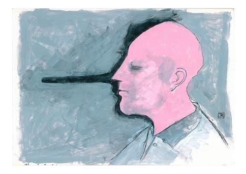 Живее ли във вас лъжец? - психологически тест - изображение