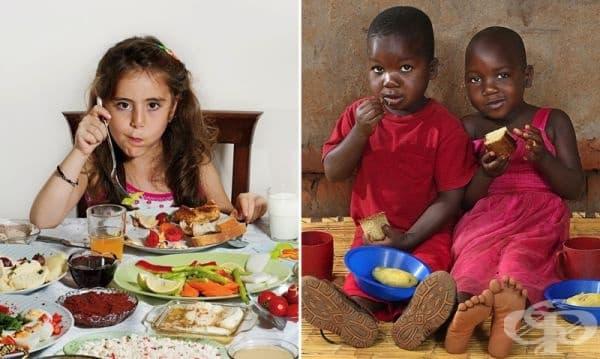 Какво закусват децата в различните точки на света? - Първа част - изображение