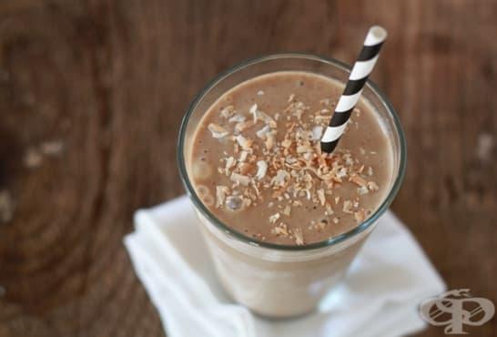 Студено кокосово кафе - изображение