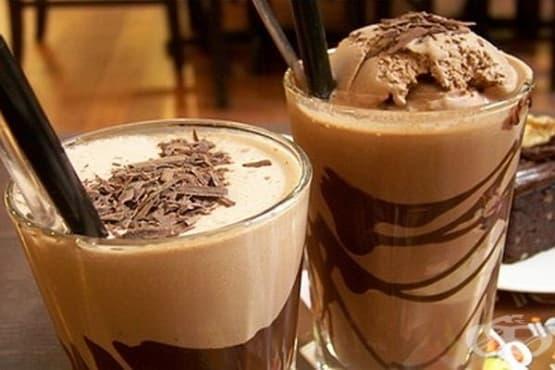 Шоколадова напитка с яйца и ванилия - изображение