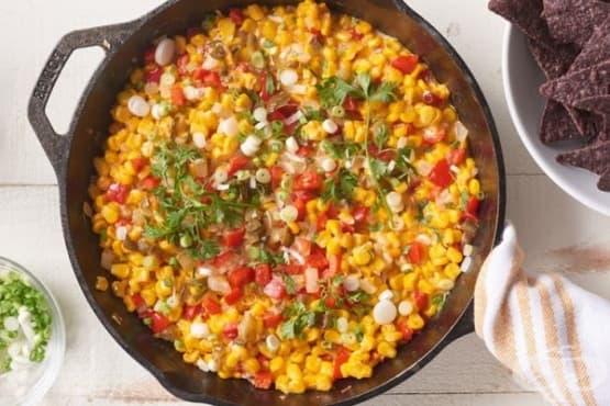 Запеканка с царевица и чушки - изображение