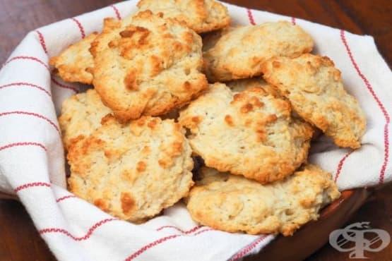 Лесни солени бисквити с масло - изображение