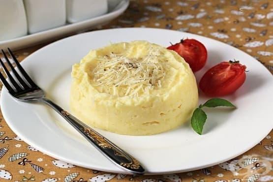 Картофено пюре с пармезан и моцарела - изображение