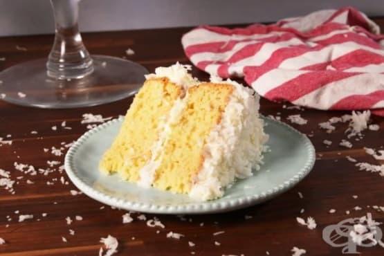 Кокосова торта с мътеница - изображение