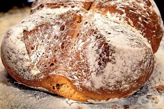 Домашен хляб с киселомлечна закваска - изображение