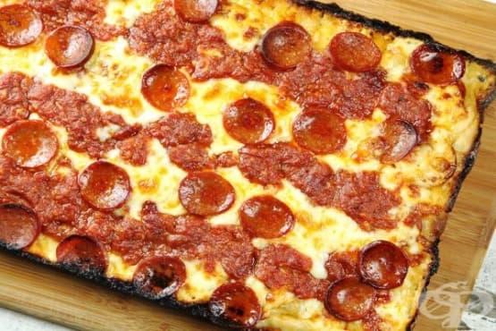 Американска пица Пеперони - изображение