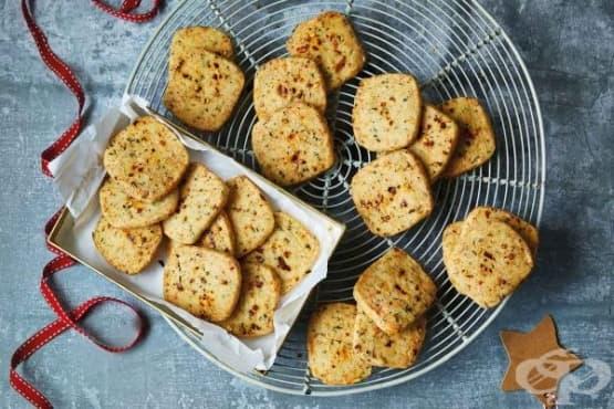 Пикантни соленки със сирене манчего - изображение