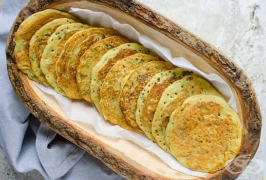 Палачинки от боб и овесени ядки - изображение