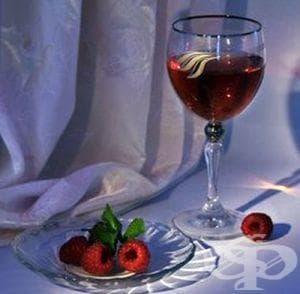 Малиново вино (бърза рецепта) - изображение