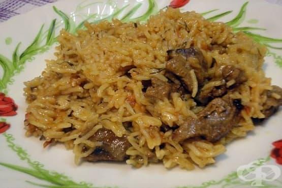 Агнешко с ориз и копър - изображение