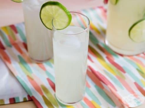 Ароматна лимонада от лайм - изображение