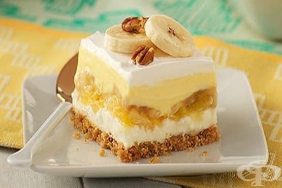 Бананово-кокосов крем-десерт - изображение