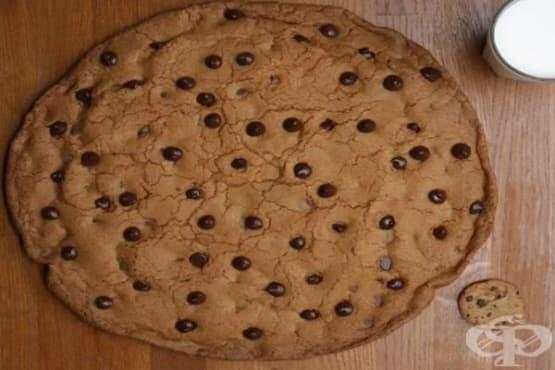 Гигантска шоколадова бисквита - изображение