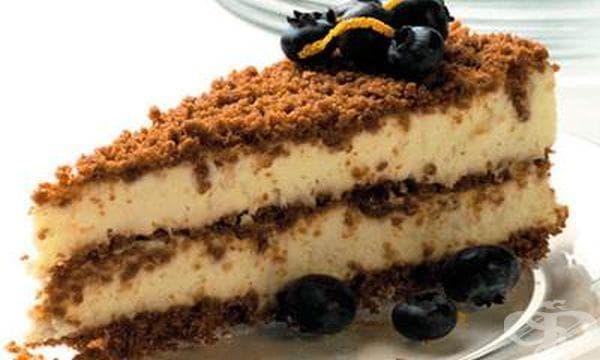 Бисквитена торта с маскарпоне - изображение