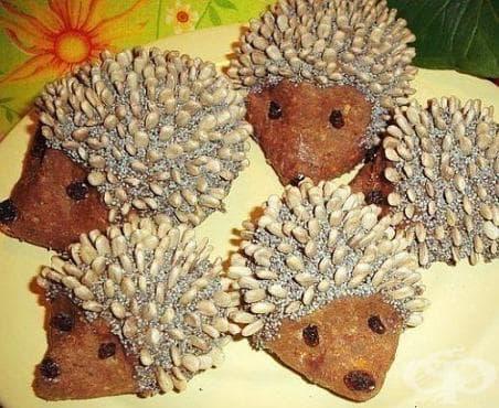 Бисквитени таралежчета - изображение