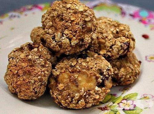 Бисквити от овесени ядки и банани - изображение