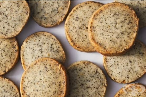 Лимонови бисквити с чай Ърл Грей - изображение