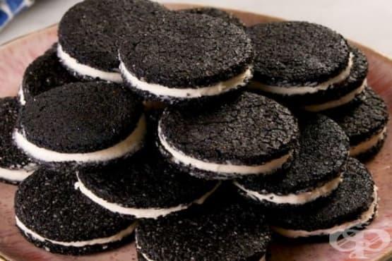 Домашни бадемови слепени бисквити без захар - изображение
