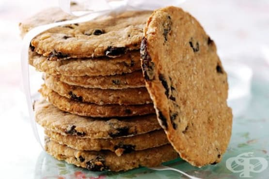 Канелени бисквити без захар с овесени ядки - изображение
