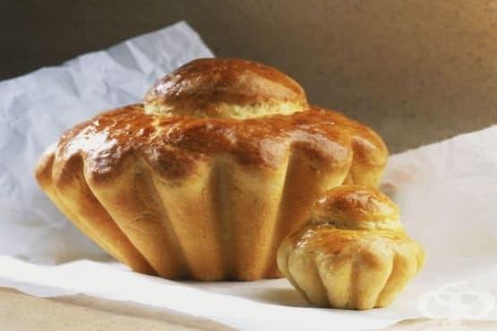 Френски хляб бриош - изображение